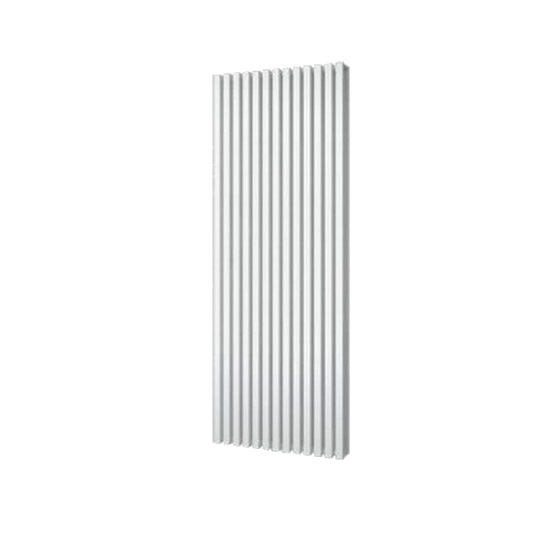 Designradiator Plieger Siena Dubbele Variant 1564 Watt Middenaansluiting 180×46,2 cm Wit