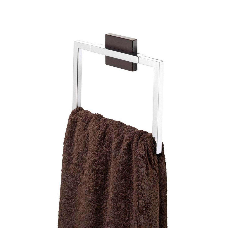 Tiger Zenna handdoekring chroom-wengé