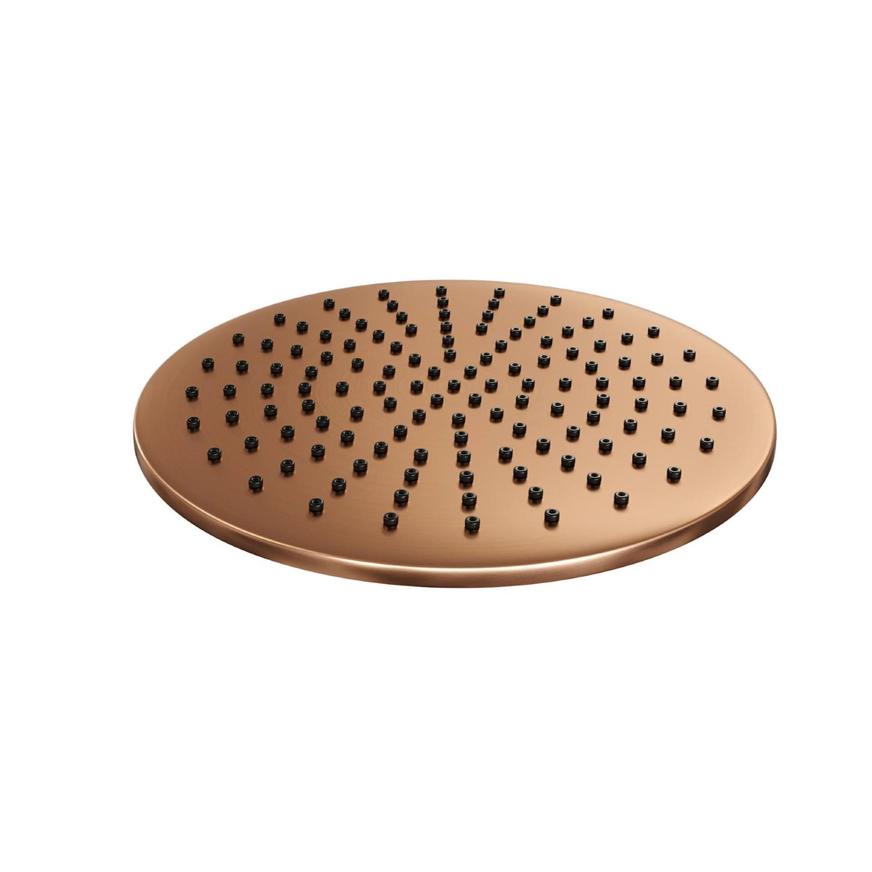 Hoofddouche Brauer Copper Rond 30 cm Koper kopen met korting doe je hier