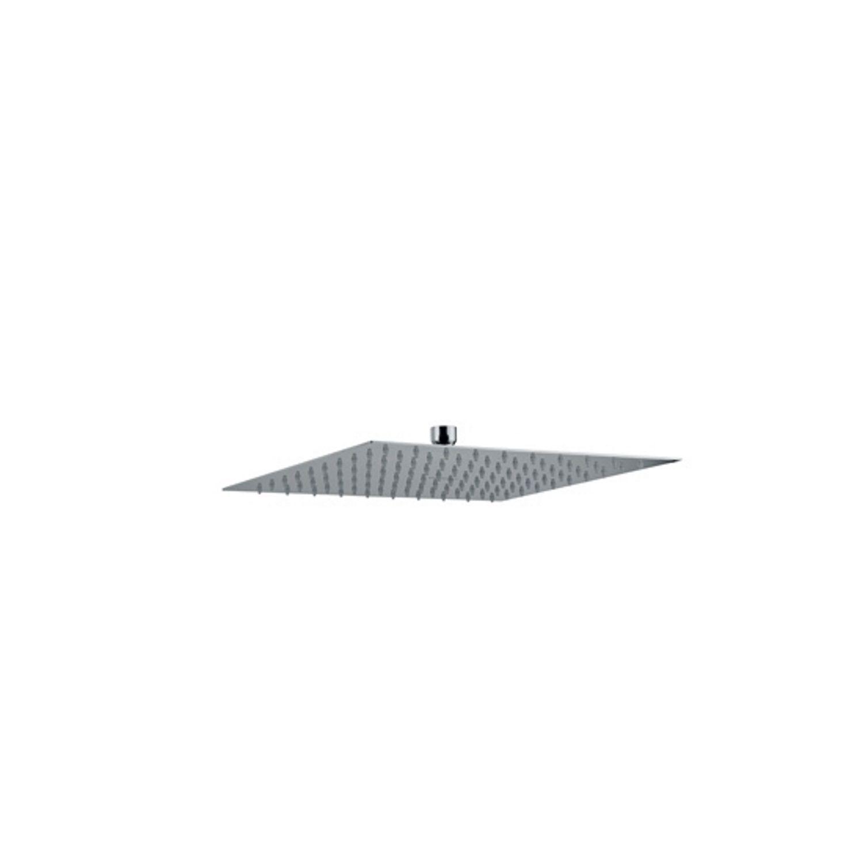 Hoofddouche Plieger Napoli Vierkant 30x30cm Chroom