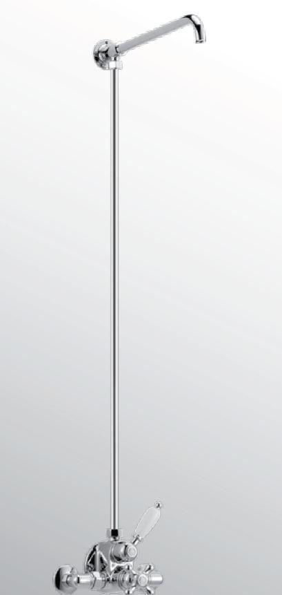 Huber Croisette Douchecombinatie Brons 598.CS01H.BA voordeel