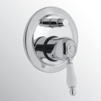 Sanitair-producten 15419 Huber Croisette Inbouw Bad/douchemengkraan Goud CM.000210.2G