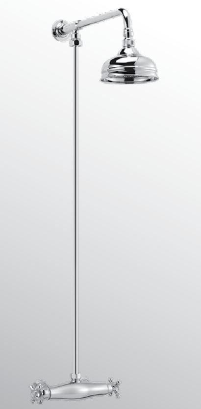 Sanitair-producten 15686 Huber Croisette Thermostatische Doucheset Goud 391.CS01H.AG