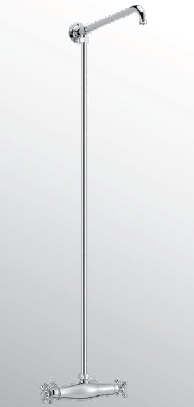 Sanitair-producten 15687 Huber Croisette Thermostatische Doucheset Goud 398.CS01H.AG