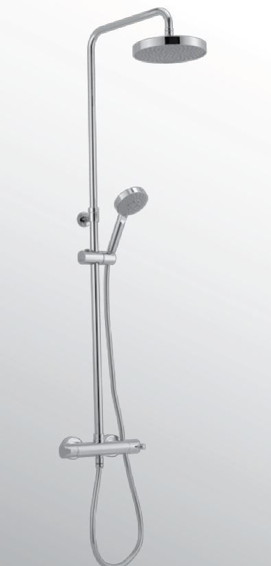 Huber Soft Douchekolom thermostaat chroom SF.C82010.21