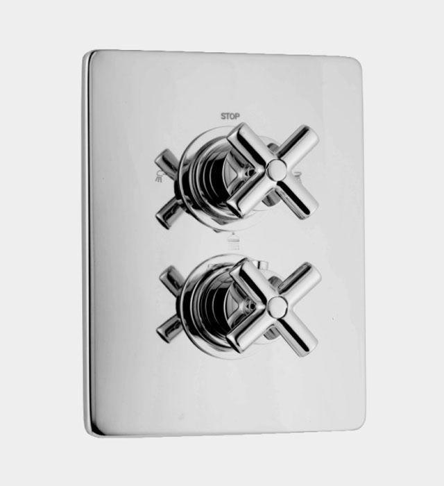 Productafbeelding van Huber Suite Inbouw thermostaat met 2-weg omsteller 369Q01HNS