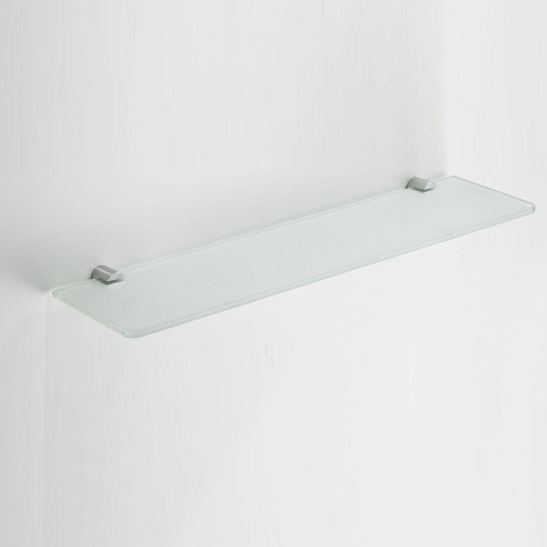Ida glazen planchet chroom