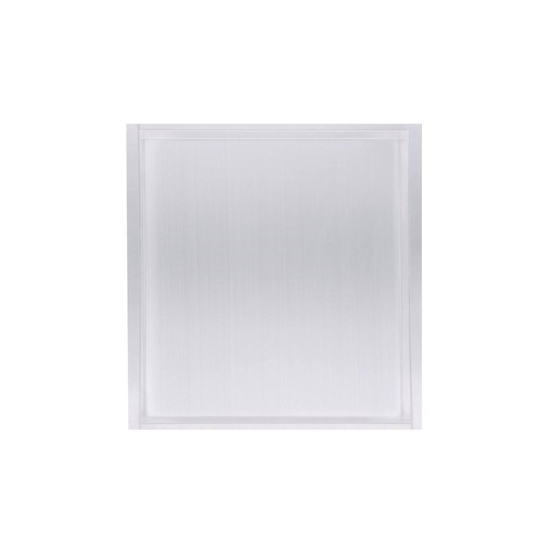 Inbouwnis Wiesbaden 30x30x7 cm RVS Mat Wit voordeel
