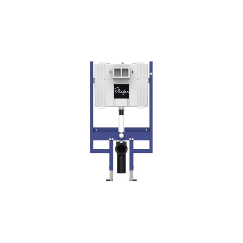 Inbouwreservoir Plieger Flair Compact 3/6 ltr Inbouwdiepte 9 cm