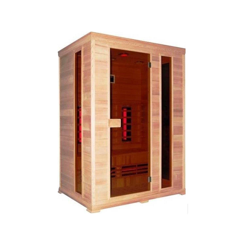 Infrarood Sauna Classico 2 150x100 cm 2400W 3 Persoons Douche > Sauna > Sauna snel en voordelig in huis