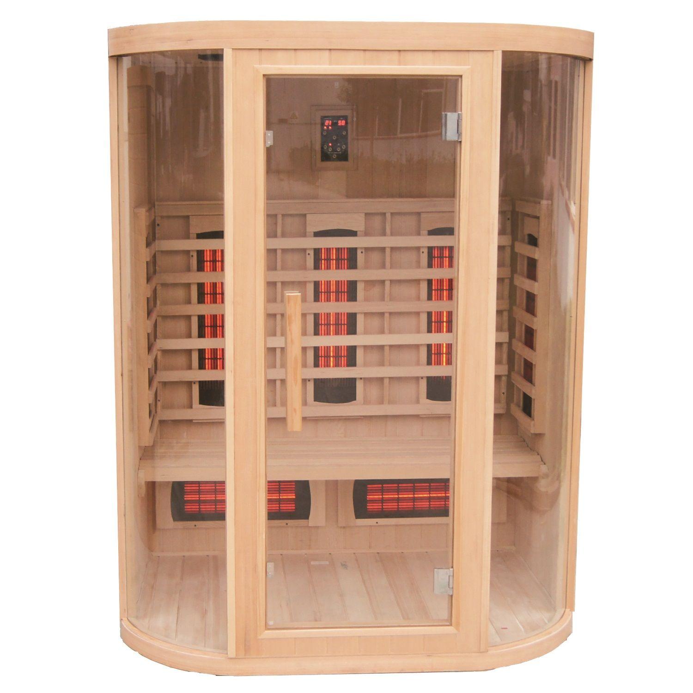 Infrarood Sauna New York 152x112 cm 2800W 3 Persoons Douche > Sauna > Sauna snel en voordelig in huis