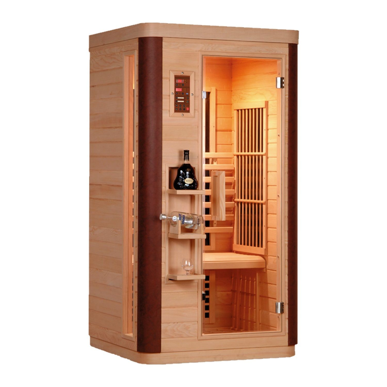 Infrarood Sauna Diamant 1 99x90 cm 1560W 1 Persoons Douche > Sauna > Sauna snel en voordelig in huis