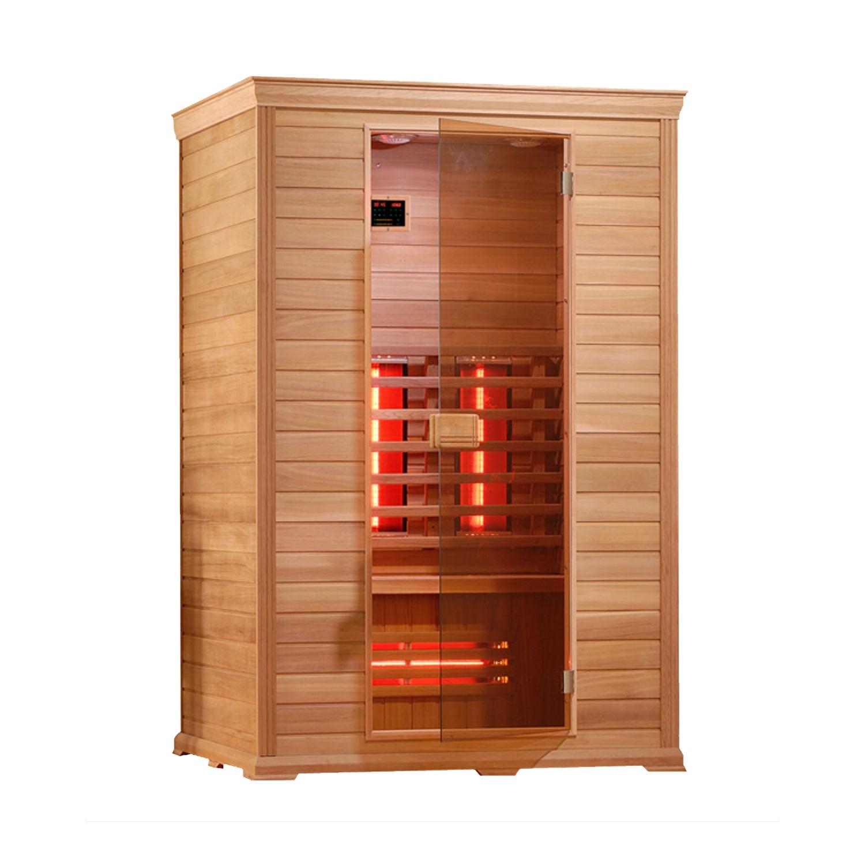Infrarood Sauna Classico 1 130x100 cm 2100W 2 Persoons Douche > Sauna > Sauna snel en voordelig in huis