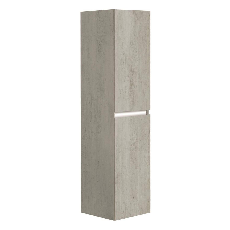 Kolomkast Allibert Pesaro 40x156x37 cm Licht Beton