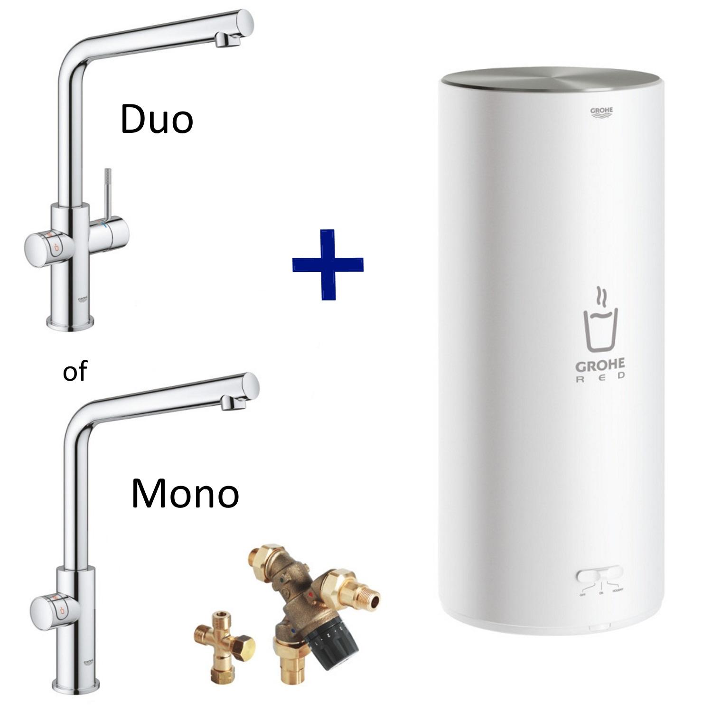 Kranen > Keukenkraan > Kokend water kraan