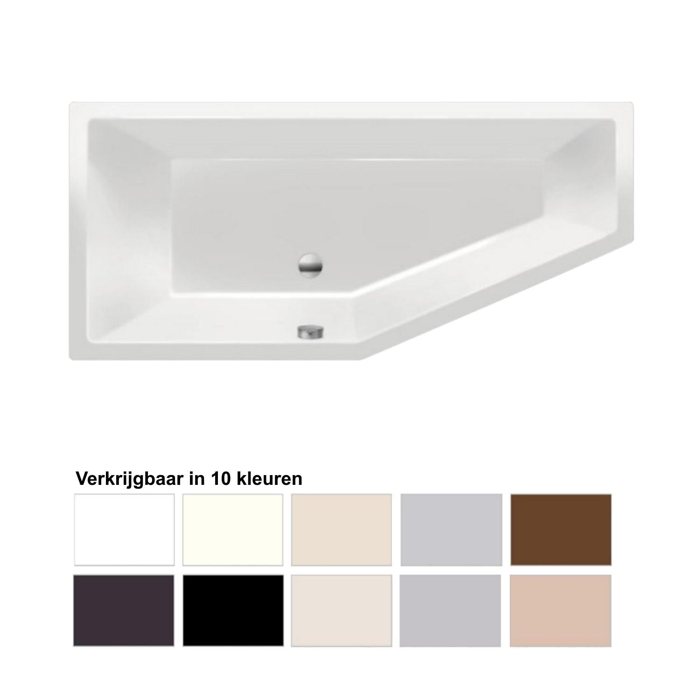 Ligbad Beterbad Xenz Society Compact Links 170x75x44 cm (Verkrijgbaar in 10 kleuren)