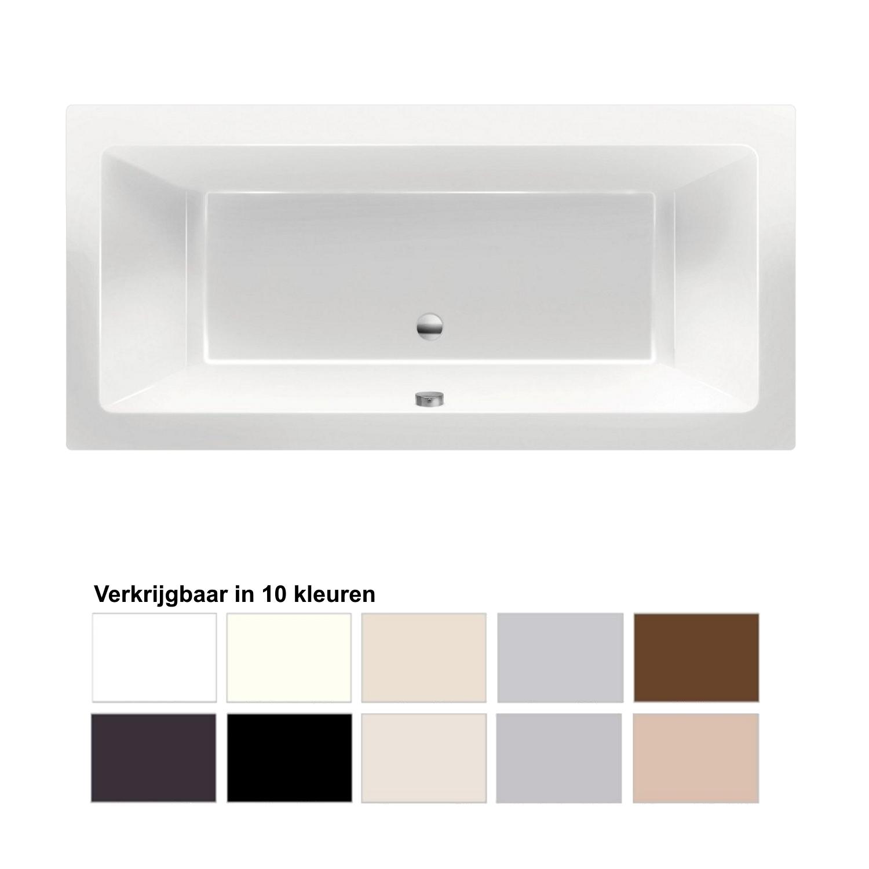 Ligbad Beterbad Xenz Society 180x80x50 cm Inbouw Acryl (Verkrijgbaar in 10 kleuren)