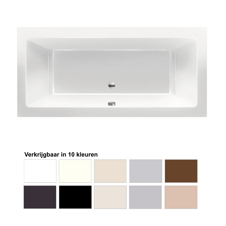 Ligbad Beterbad Xenz Society 190x90x50cm Inbouw Acryl (Verkrijgbaar in 10 kleuren)