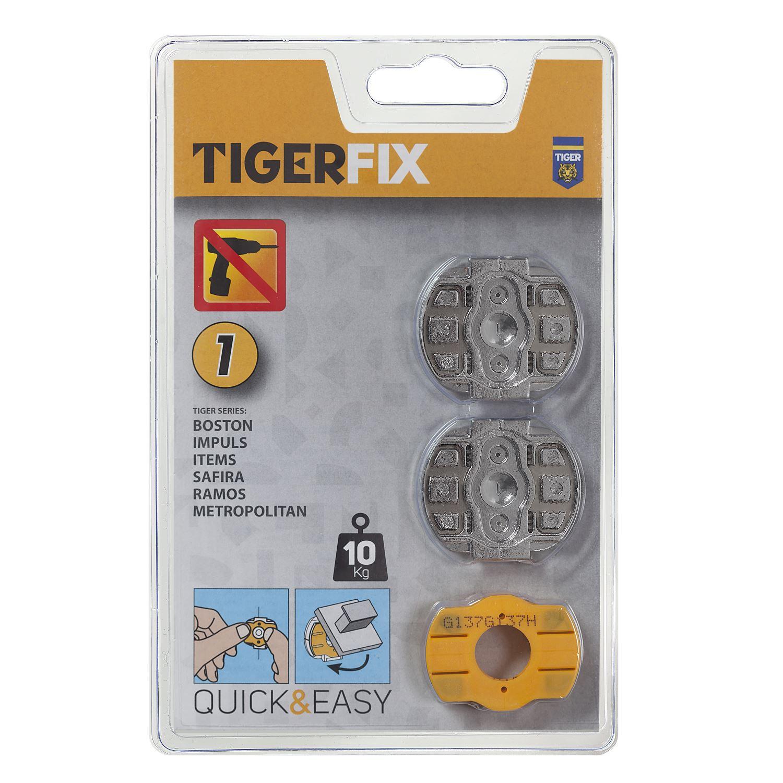 Tiger tigerfix montageset 1 2 stuks