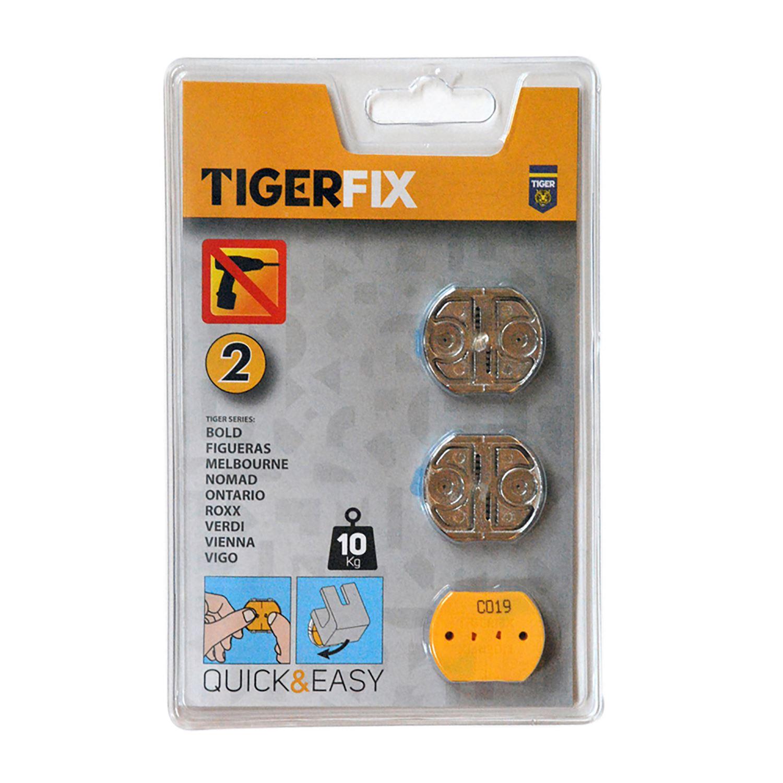 Tiger tigerfix montageset 2 2 stuks