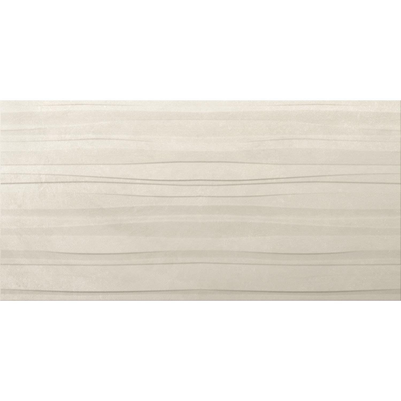 Vloertegel Cristacer Logan Bianco Decor 45x90cm (Doosinhoud 1,21M²)