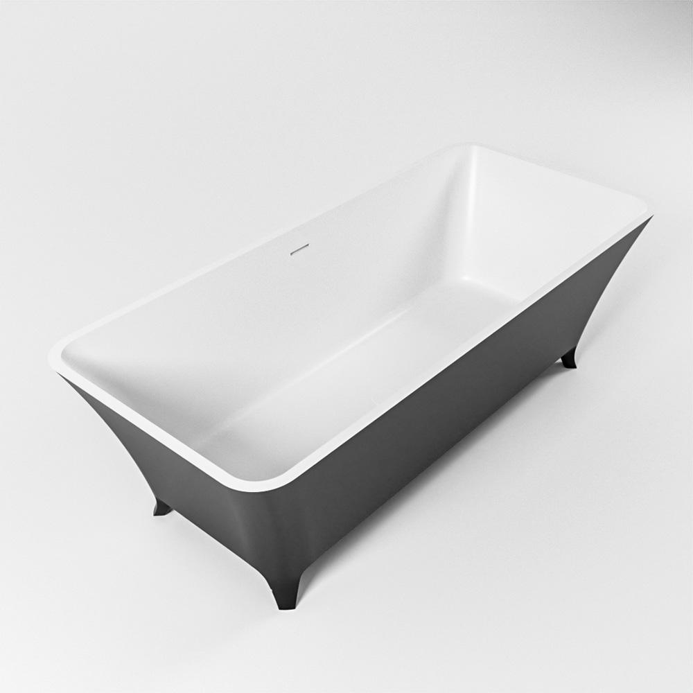 LUNDY vrijstaand bad 170x75cm kleur Urban / talc