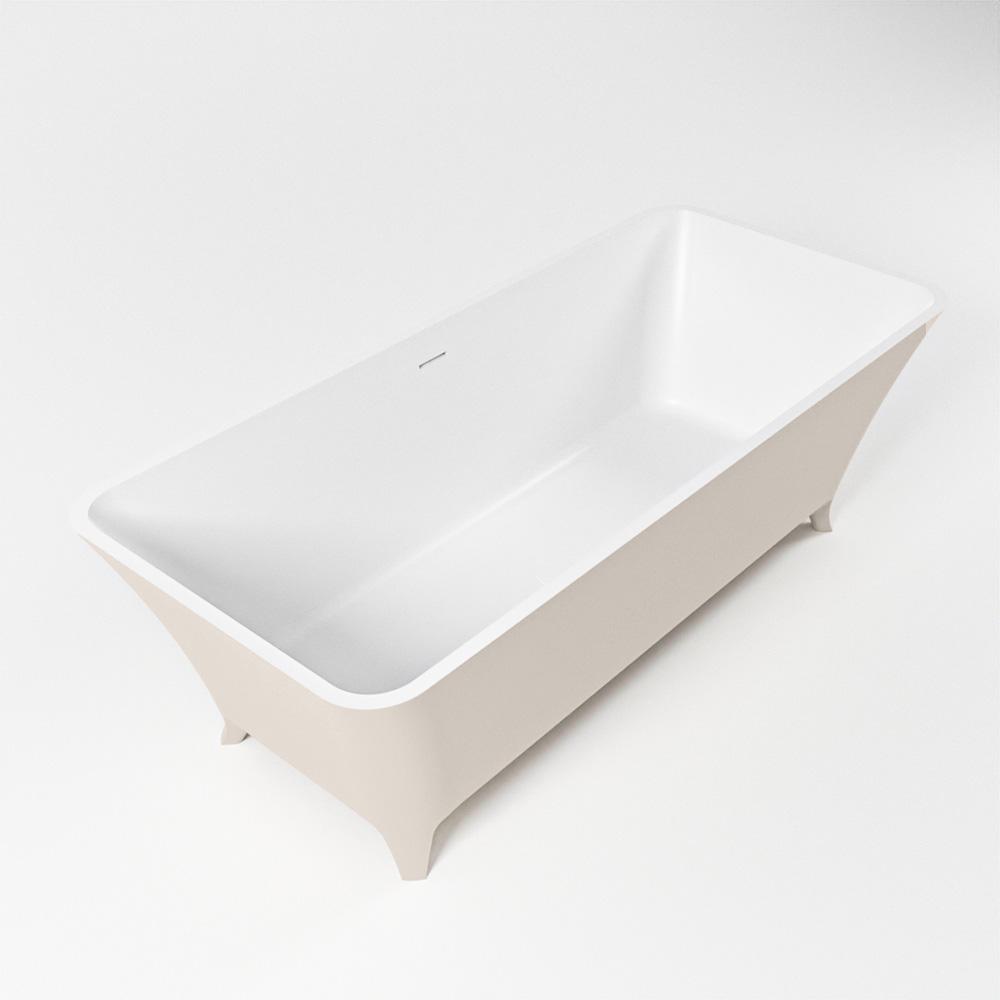 Productafbeelding van LUNDY vrijstaand bad 170x75cm kleur linen / talc