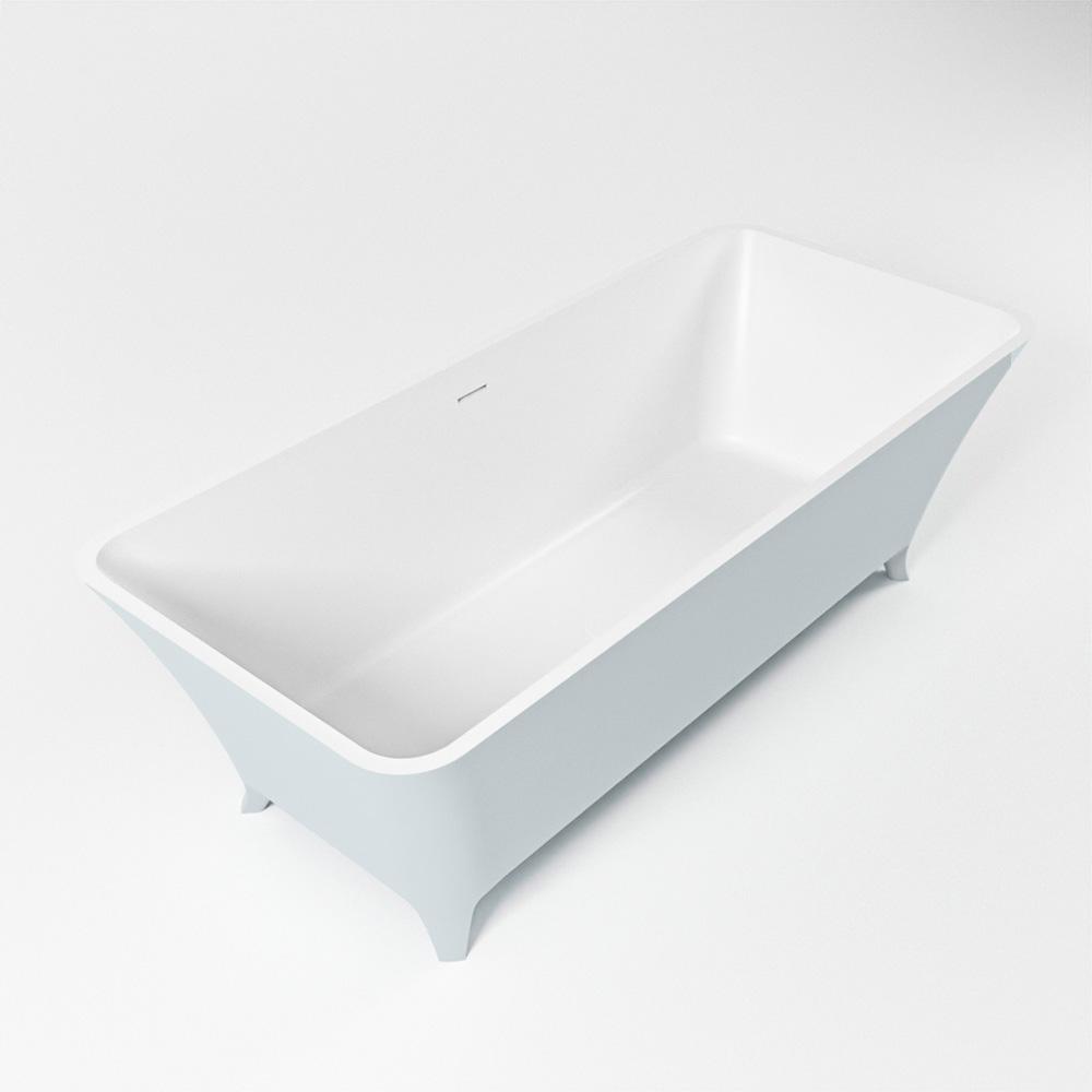 LUNDY vrijstaand bad 170x75cm kleur Clay / talc