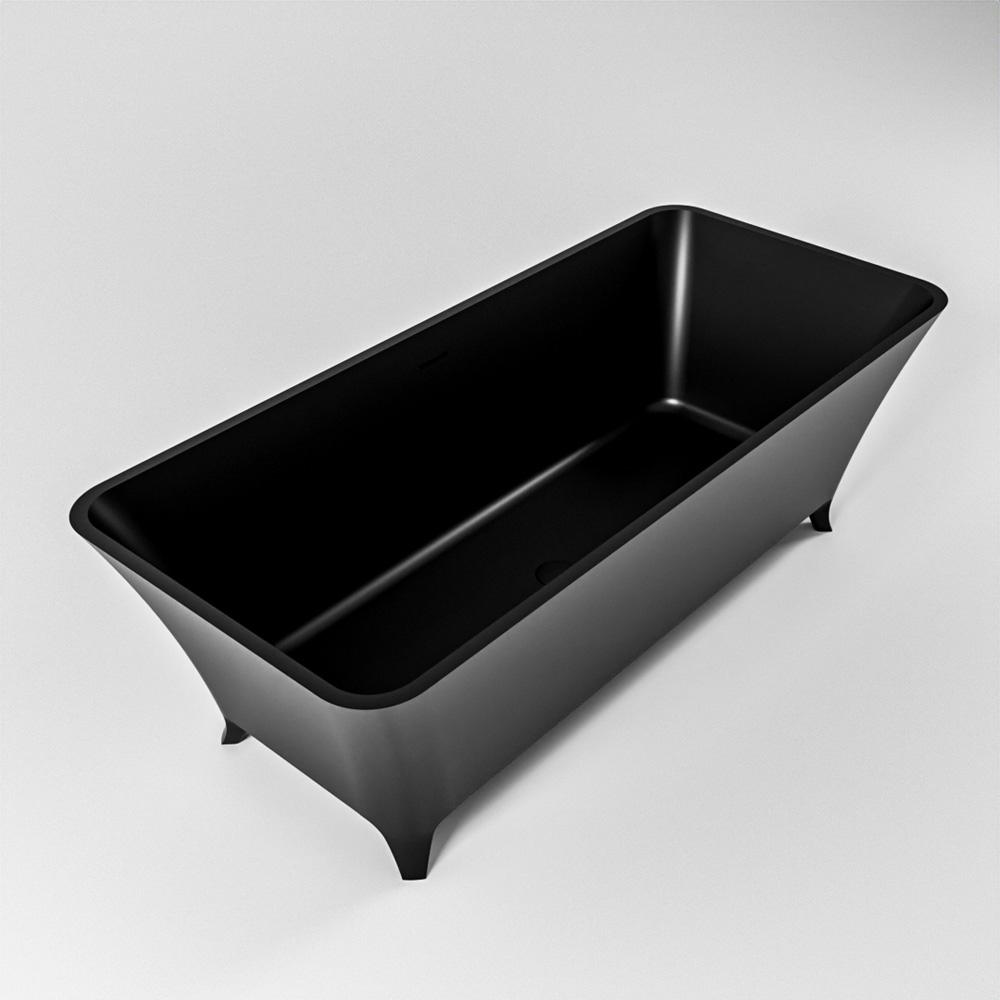 LUNDY vrijstaand bad 170x75cm kleur Urban / Urban