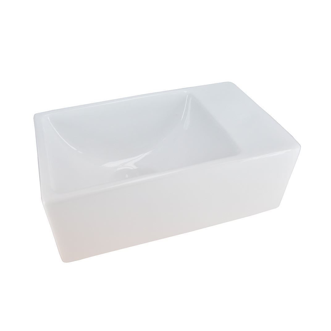 Mueller Rhea XXS fontein 305x180x110 zonder kraangat wit