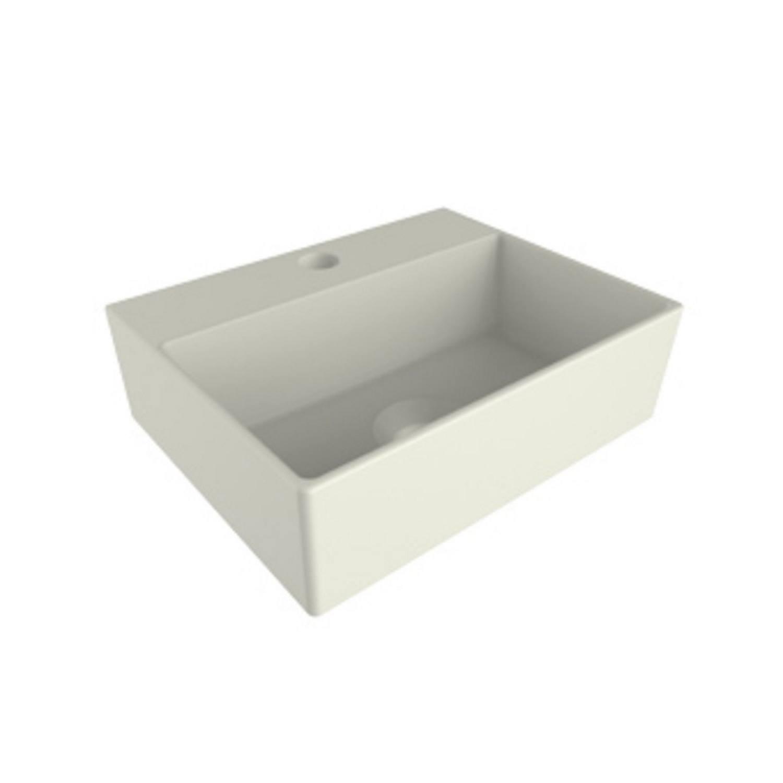 Mini Fontein Salenzi Cloud 1 Kraangat 29x23 cm Zonder Overloop Mat Wit voordeel