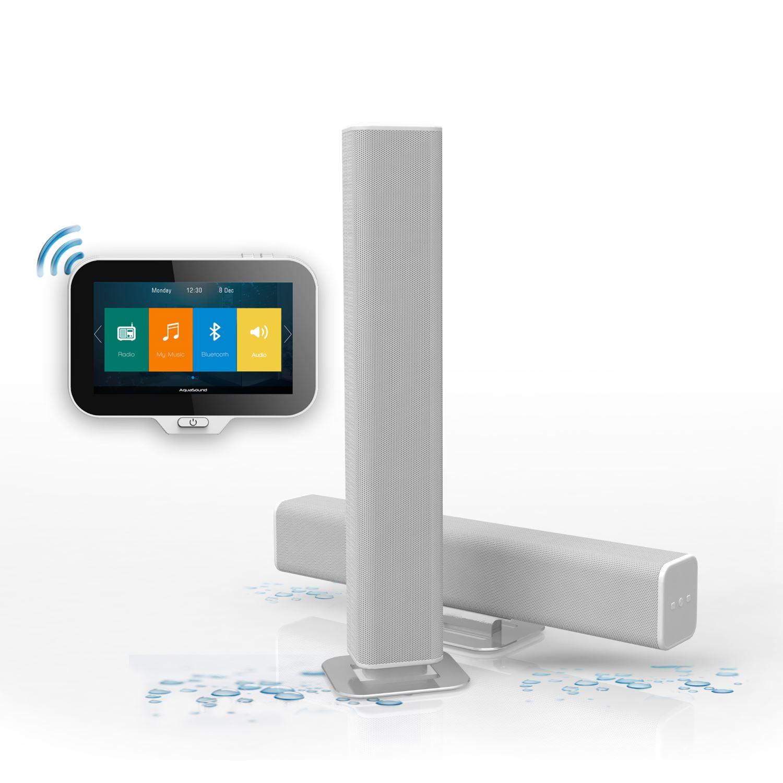 Radio Music Center Aquasound N-Joy Controller (IPX7) + Wand lader + ...