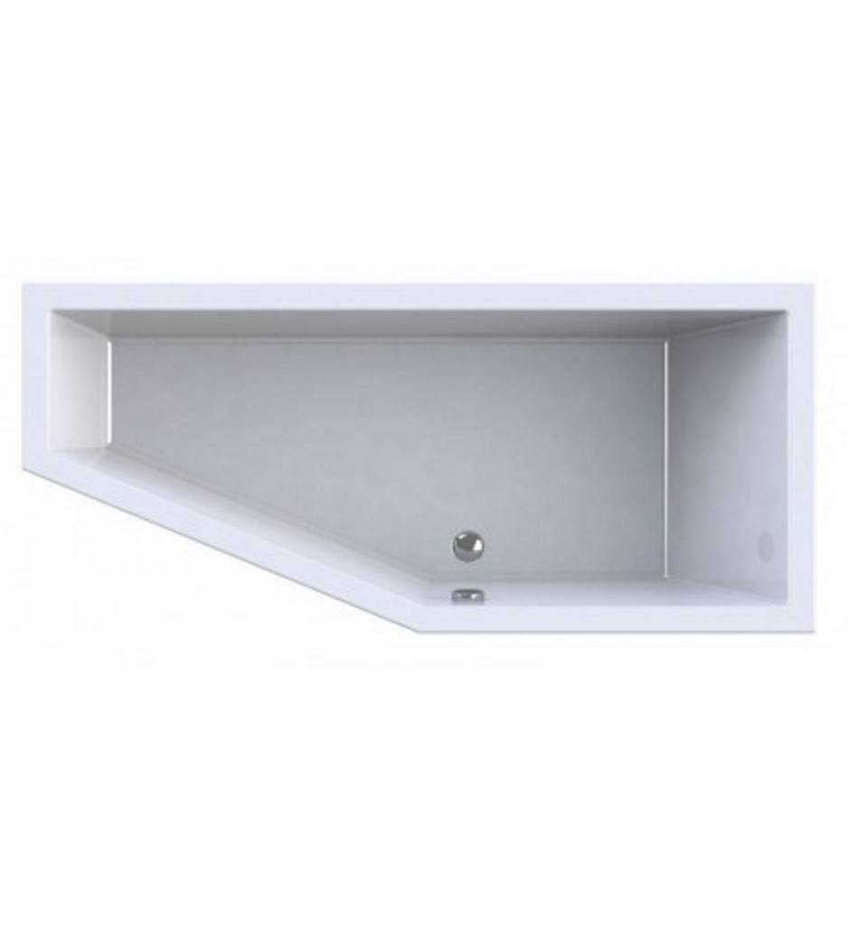 Wavedesign Ligbad Dore 170X75X48 cm Wit - 170x75x48 cm Links
