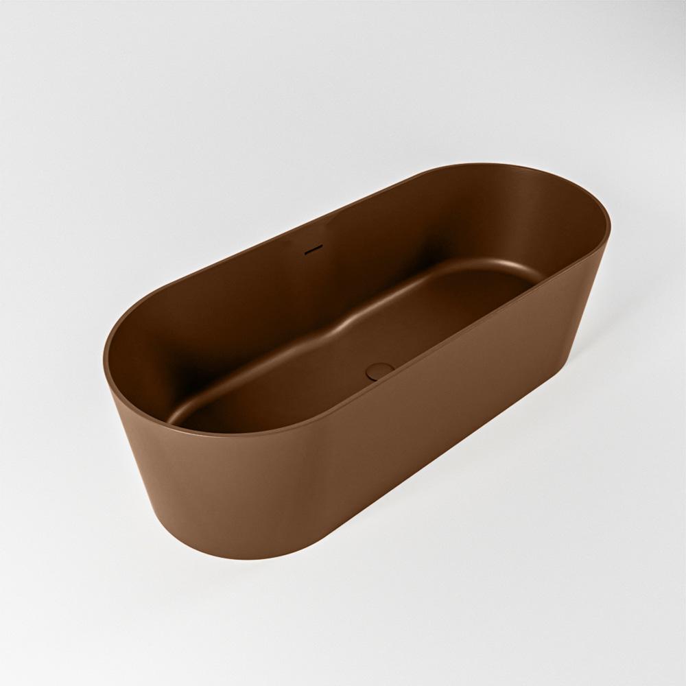 NOBLE vrijstaand bad 180x75cm kleur Rust / Rust