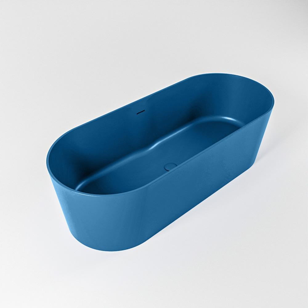NOBLE vrijstaand bad 180x75cm kleur Jeans / Jeans