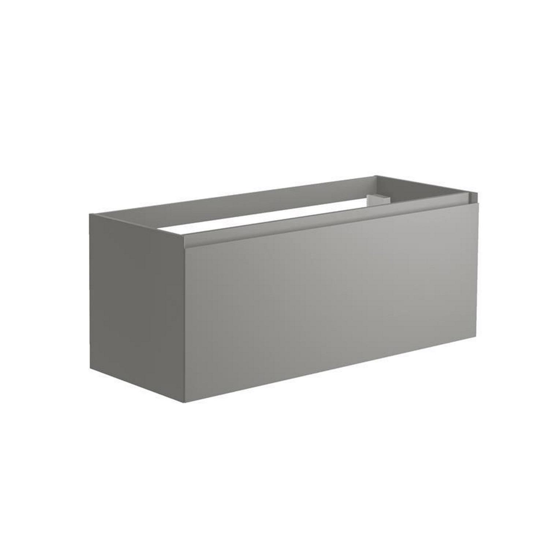 Sanitair tegel Allibert kopen? Onderkast Allibert Nordik 120x46x47,2 cm Gelakt MDF Ultra Mat Grijs (wastafel optioneel) met voordeel razendsnel in huis bezorgd