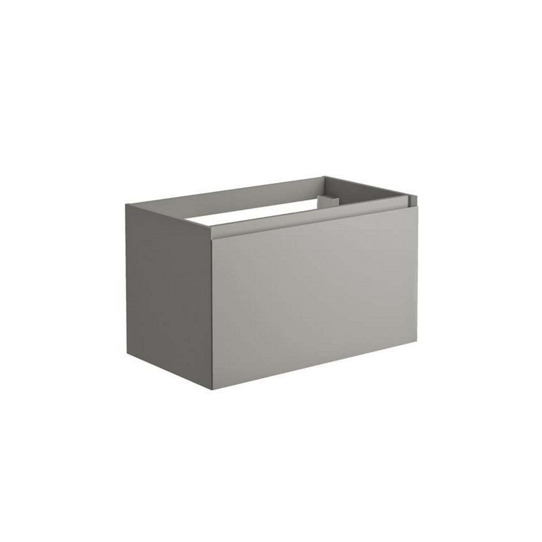 Sanitair tegel Allibert kopen? Onderkast Allibert Nordik 80x46x47,2 cm Gelakt MDF Ultra Mat Grijs (wastafel optioneel) met voordeel razendsnel in huis bezorgd