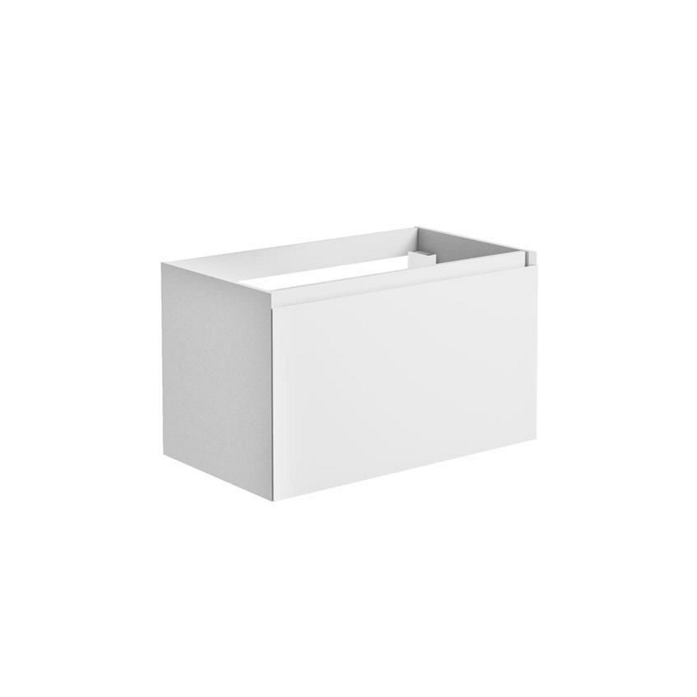 Sanitair tegel Allibert kopen? Onderkast Allibert Nordik 80x46x47,2 cm Gelakt MDF Ultra Mat Wit (wastafel optioneel) met voordeel razendsnel in huis bezorgd