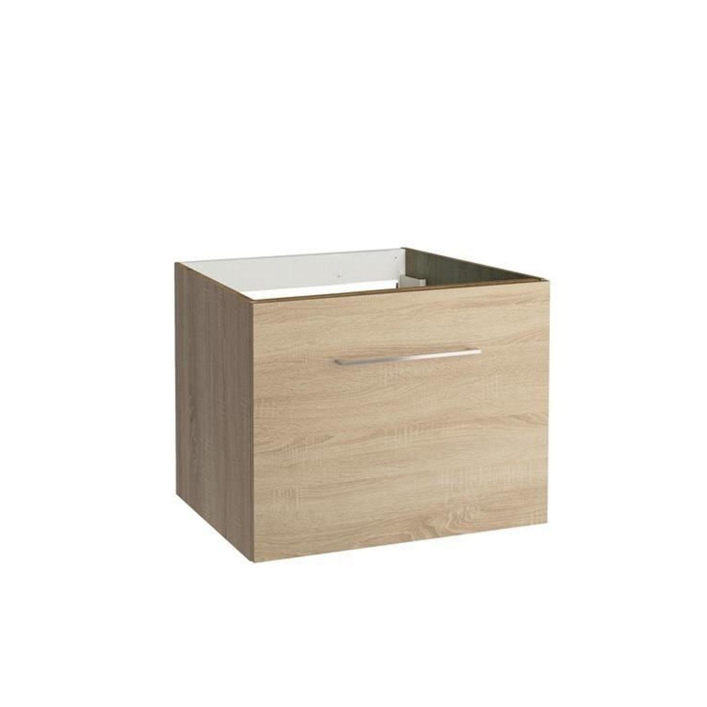 Onderkast Allibert Verone 60x46x47,2 cm Gelakt MDF Donker Eiken (wastafel optioneel) Badkamermeubels > Wastafelmeubels > Wastafelonderkast snel en voordelig in huis