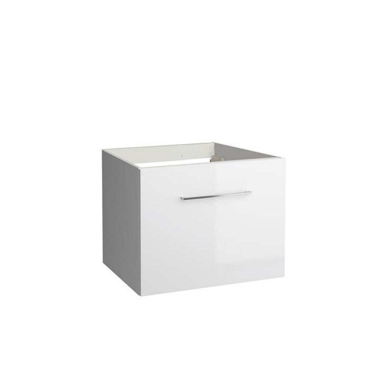 Onderkast Allibert Verone 60x46x47,2 cm Gelakt MDF Glanzend Wit (wastafel optioneel) Badkamermeubels > Wastafelmeubels > Wastafelonderkast snel en voordelig in huis