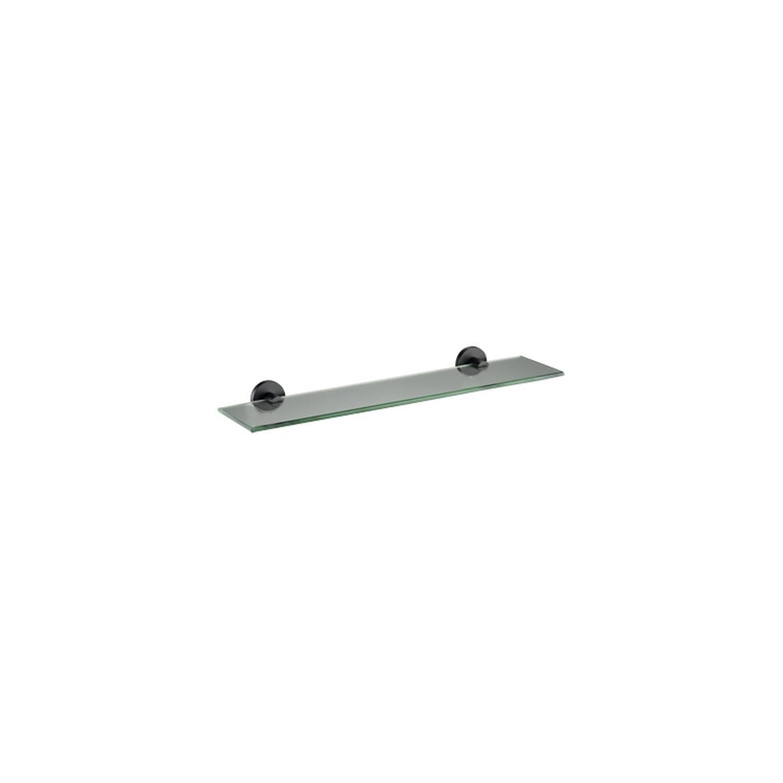 Planchet Plieger Vigo Glas 52x14.5 cm Mat Zwart voordeel