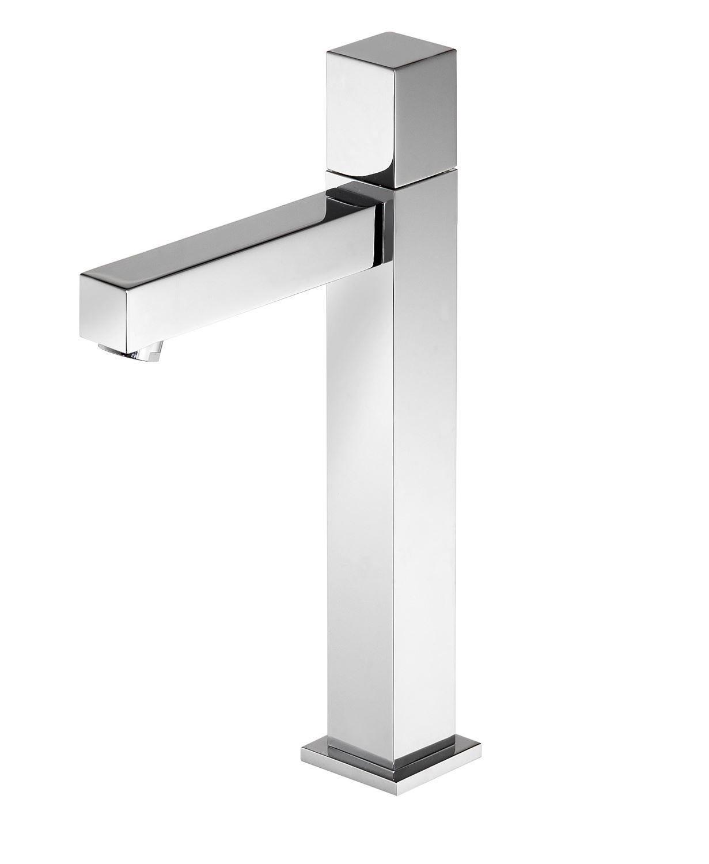 Hotbath Bloke fonteinkraan hoog vierkant, chroom