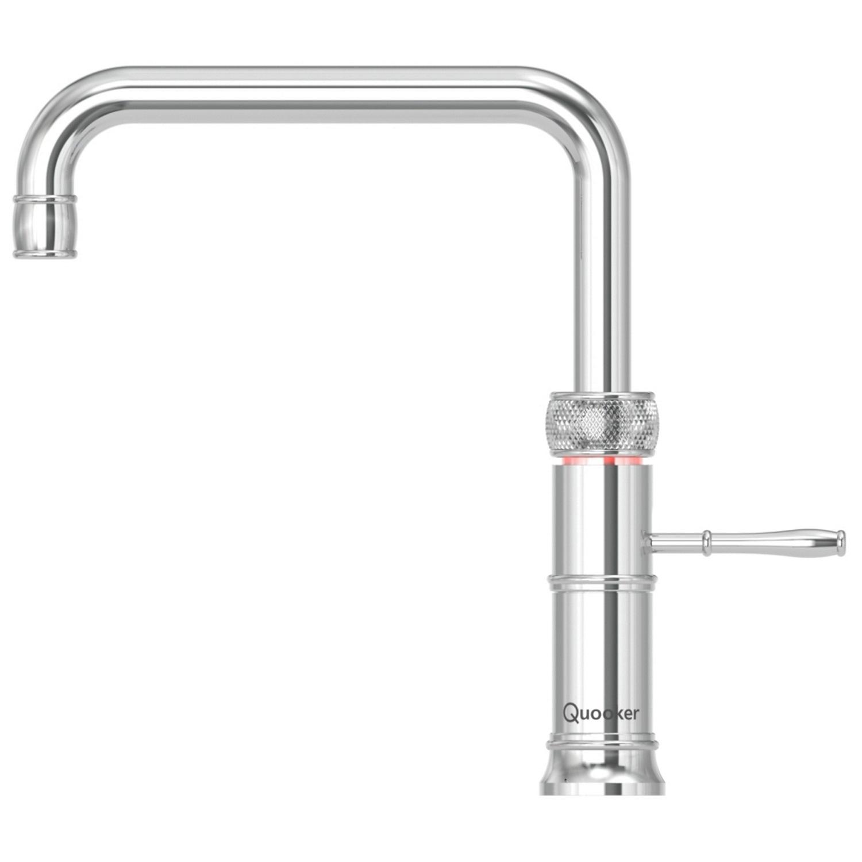 Quooker Kokendwaterkraan Classic Fusion Square RVS kopen - Tegel Depot sanitair met korting