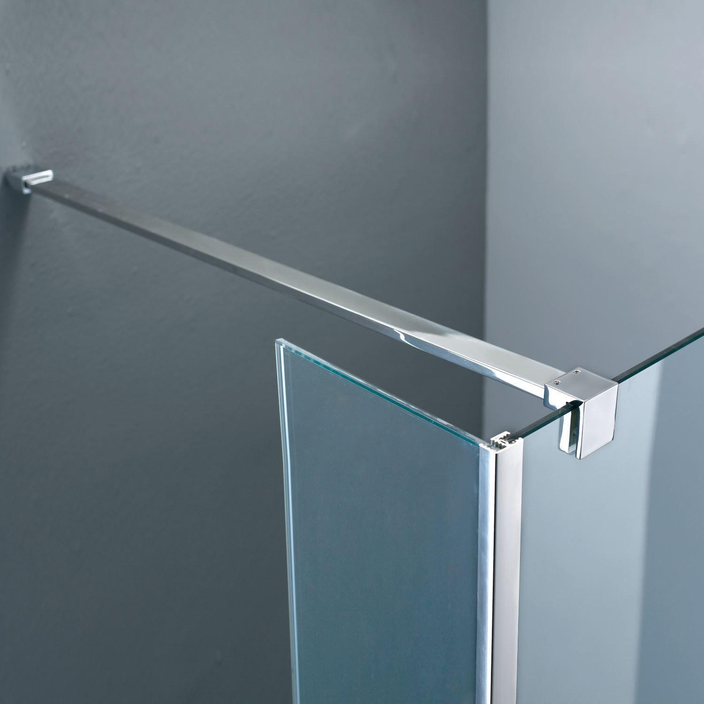 Sanitair-producten 43239 Stabilisatiestang Boss & Wessing 140cm beugel recht (inkortbaar)