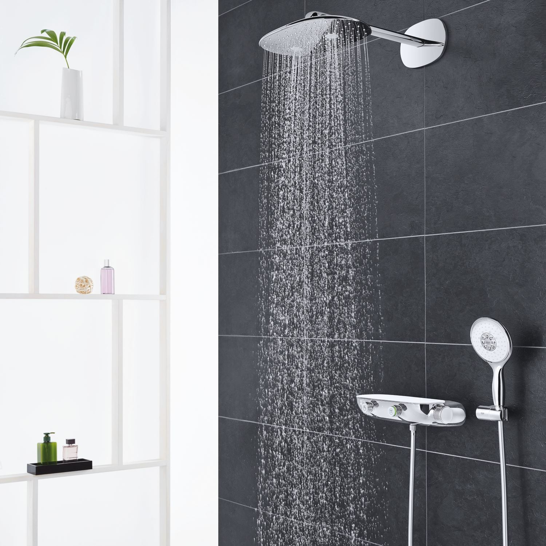 rainshower systeem smartcontrol 360 mono inbouw comfortset chroom. Black Bedroom Furniture Sets. Home Design Ideas