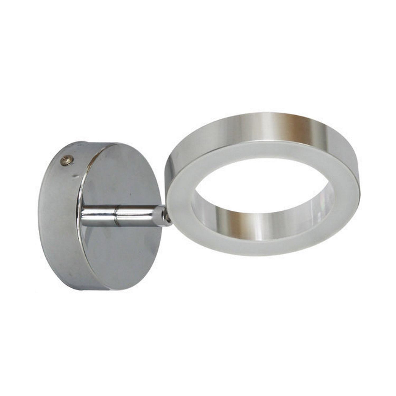 Ranex Wetline LED Wandlamp Anzio Aluminium/glas 4.4 Watt 270 Lumen