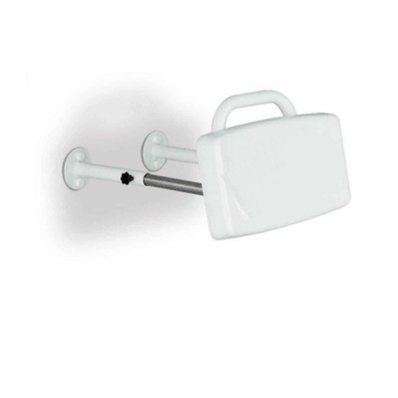 Rugleuning Handicare Linido Aangepast Sanitair 40x26,5 cm Kunststof Wit