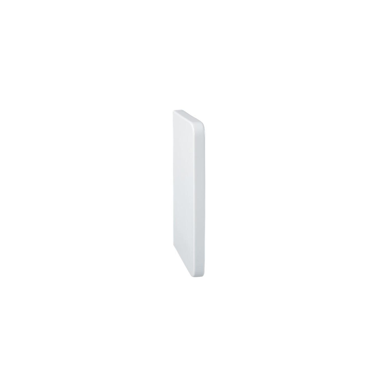 Schaamschot Sanicare Witte Kleur Strakke En Tijdloze Uitvoering 70x40x5,2 cm voordeel