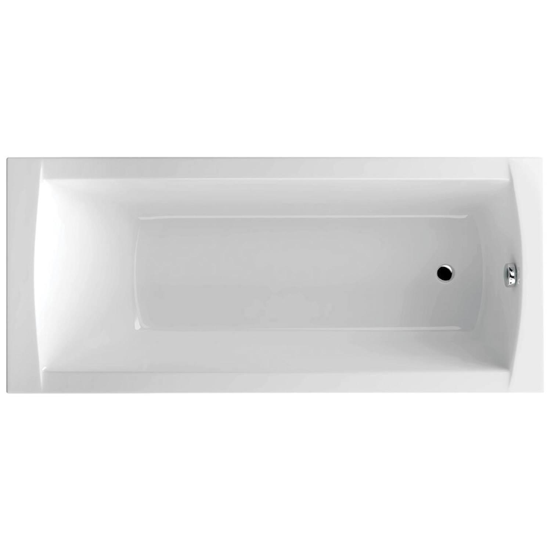 Productafbeelding van Ligbad Sealskin Get Wet Trend Monobad 170x75x44,5cm Wit