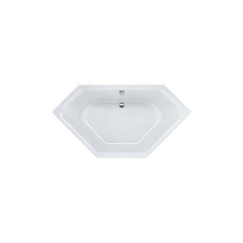 Sealskin Ligbad Senso Slimfit 145x145 cm Wit kopen met korting doe je hier